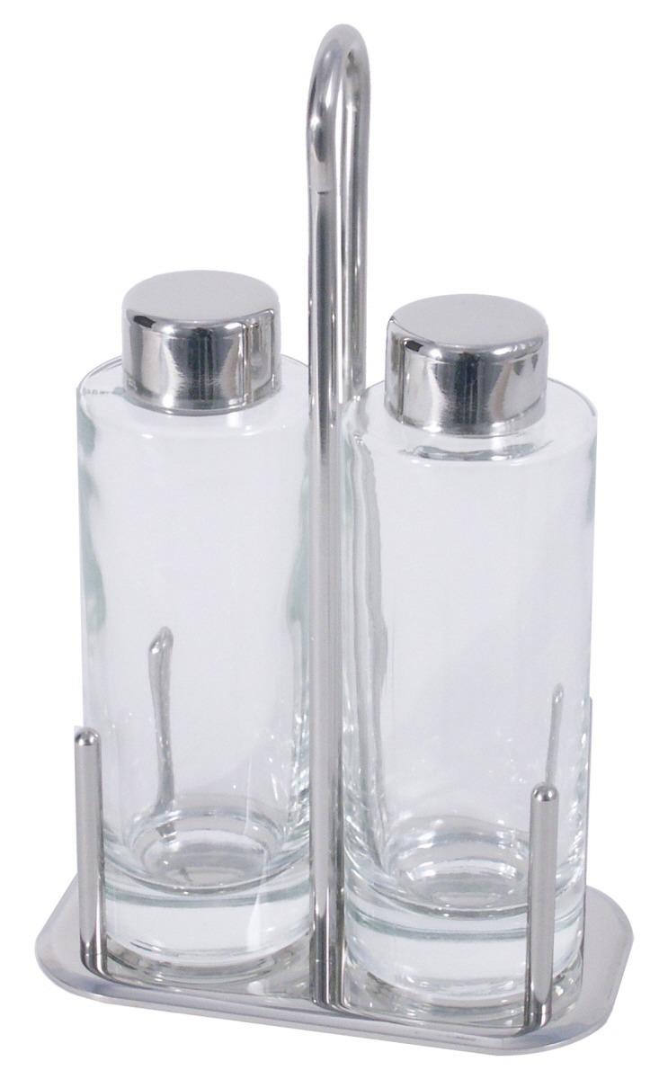 Essig- / Öl-Menage 2-tlg. 150 x 90 x 215 mm hochglänzend