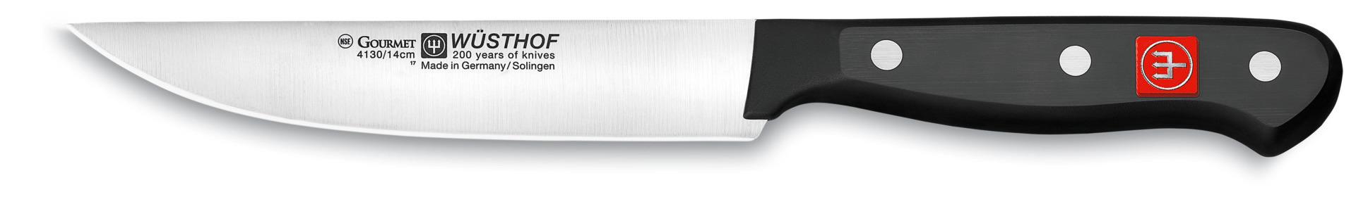 Küchenmesser Klingenlänge 160 mm / 281 mm lang