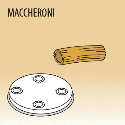 Matrize Maccheroni für Nudelmaschine 516002 bis 516004