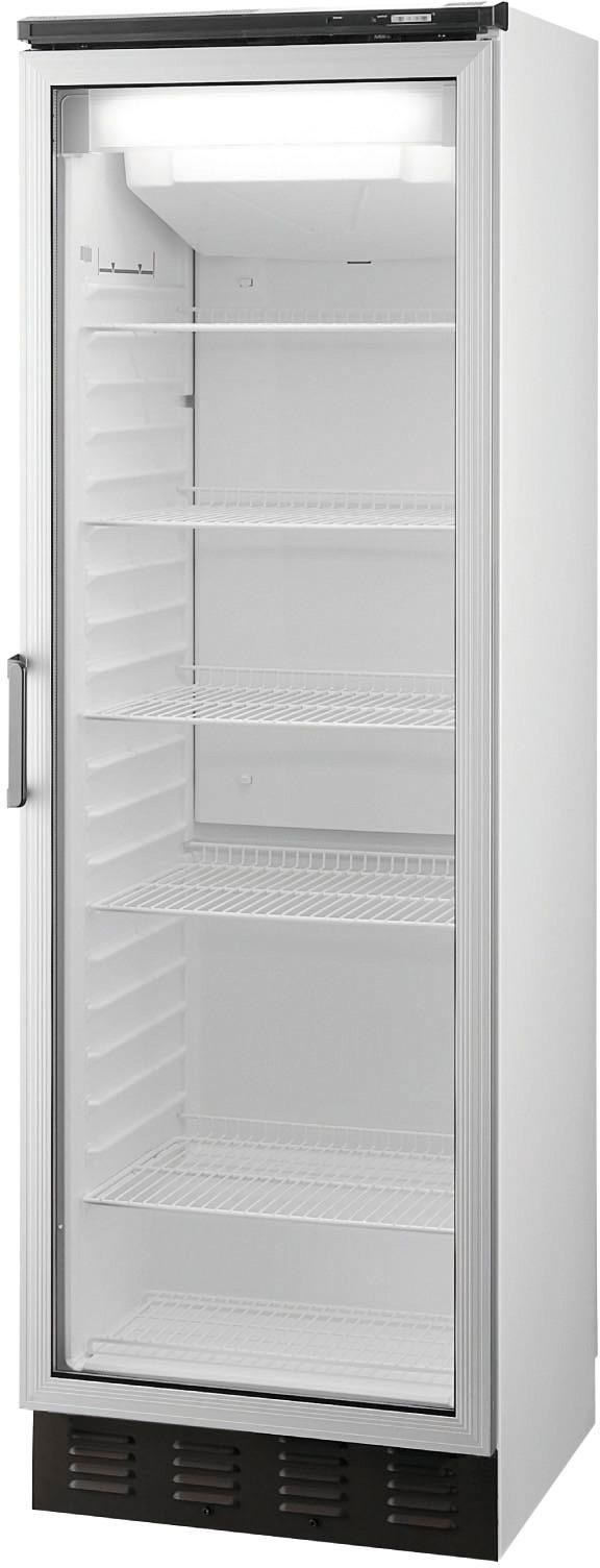 Umluft-Glastürtiefkühlschrank 310,00 l  / mit LED Bleuchtung