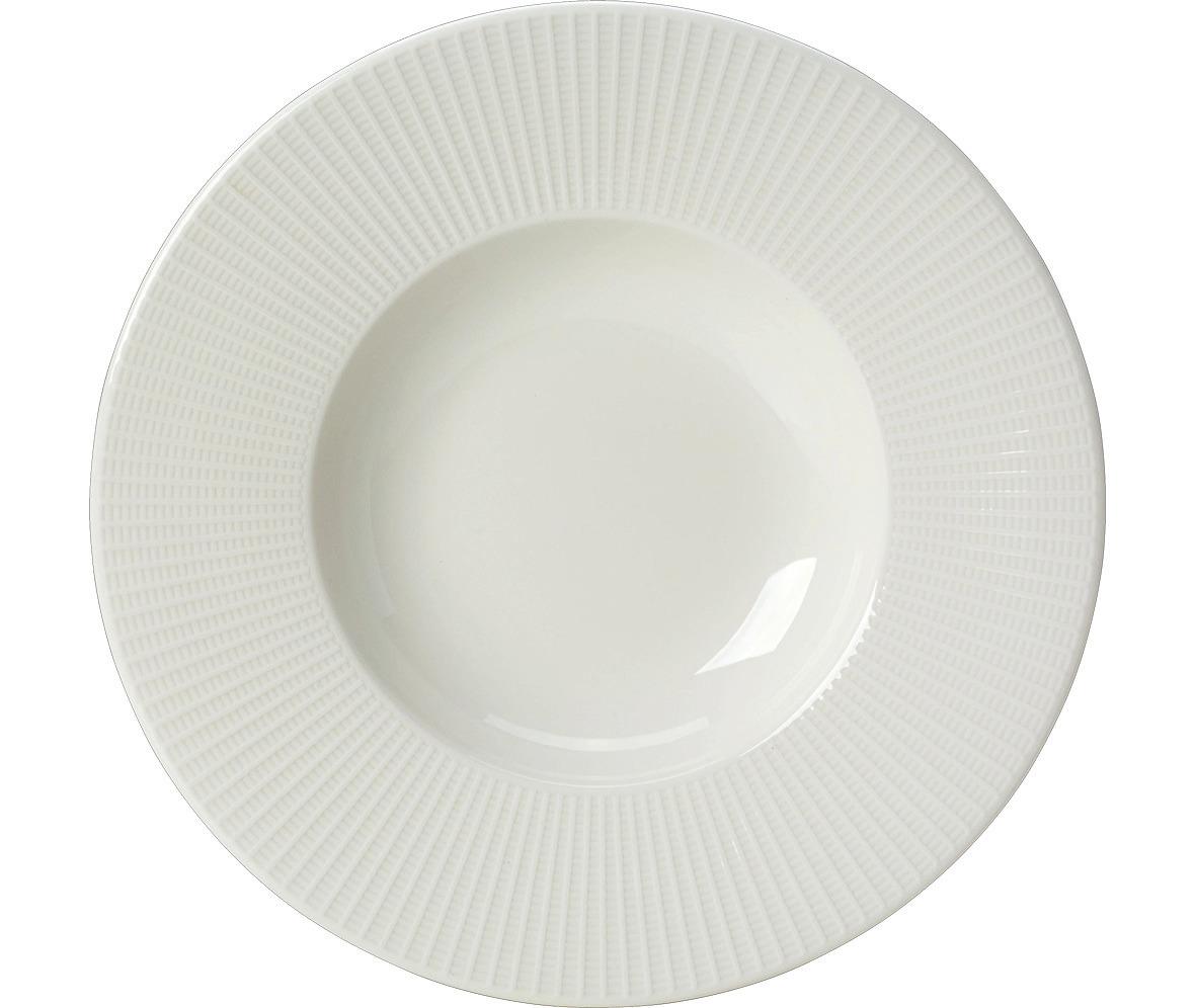 Pastateller 315 mm weiß