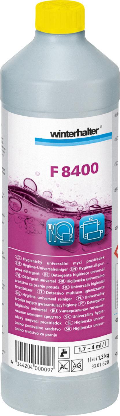 Hygiene-Universalreiniger F 8400 / 1,00 l Karton je 15 Flaschen