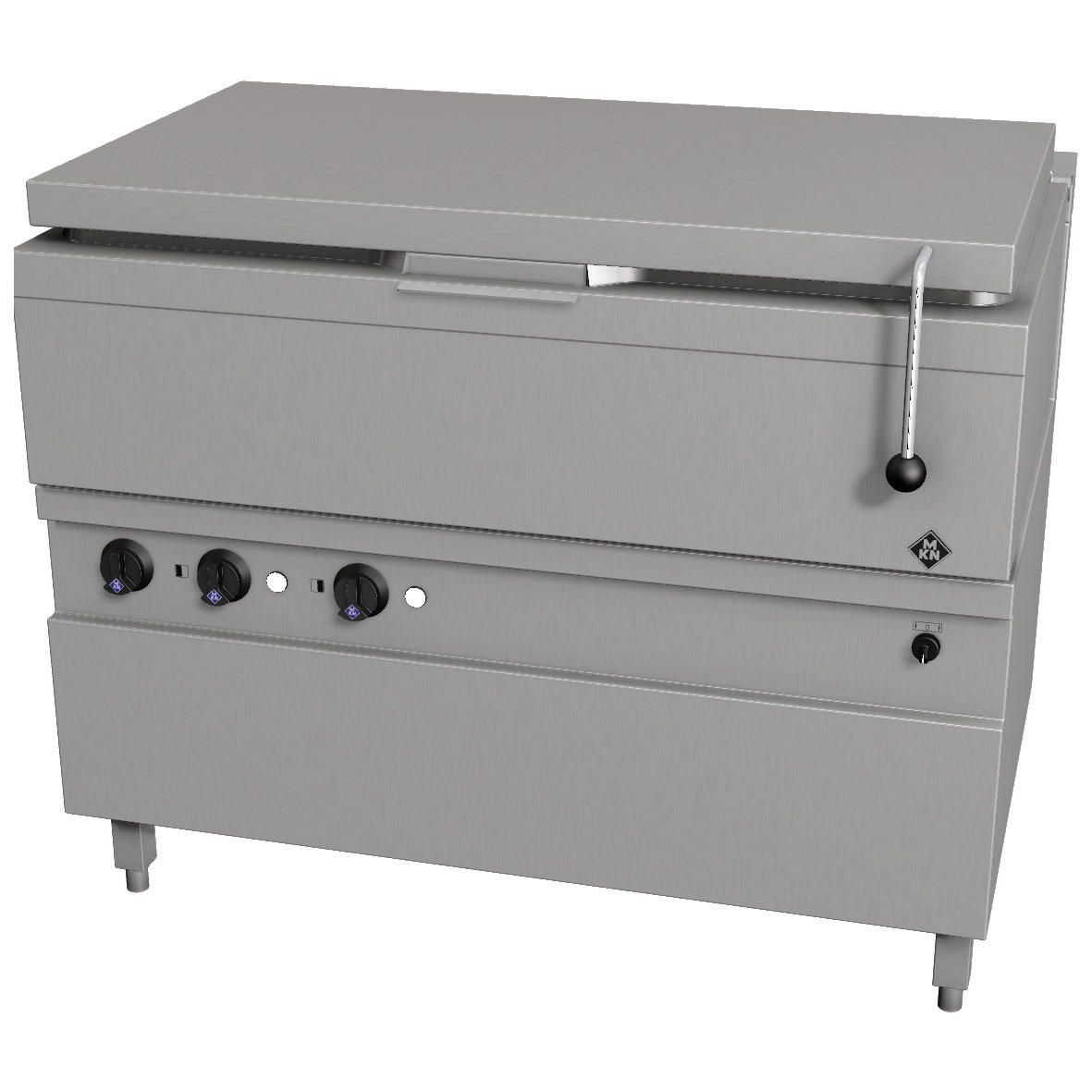 Elektro-Kippbratpfanne 89,00 l GN 3/1  Motorkippung / Optima 700