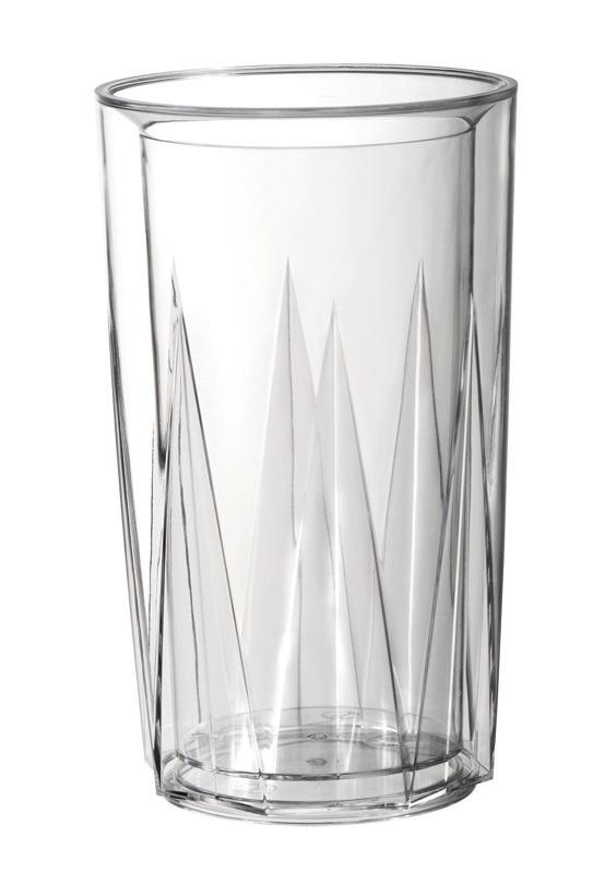 Flaschenkühler 135 x 135 x 230 mm doppelwandig glasklar