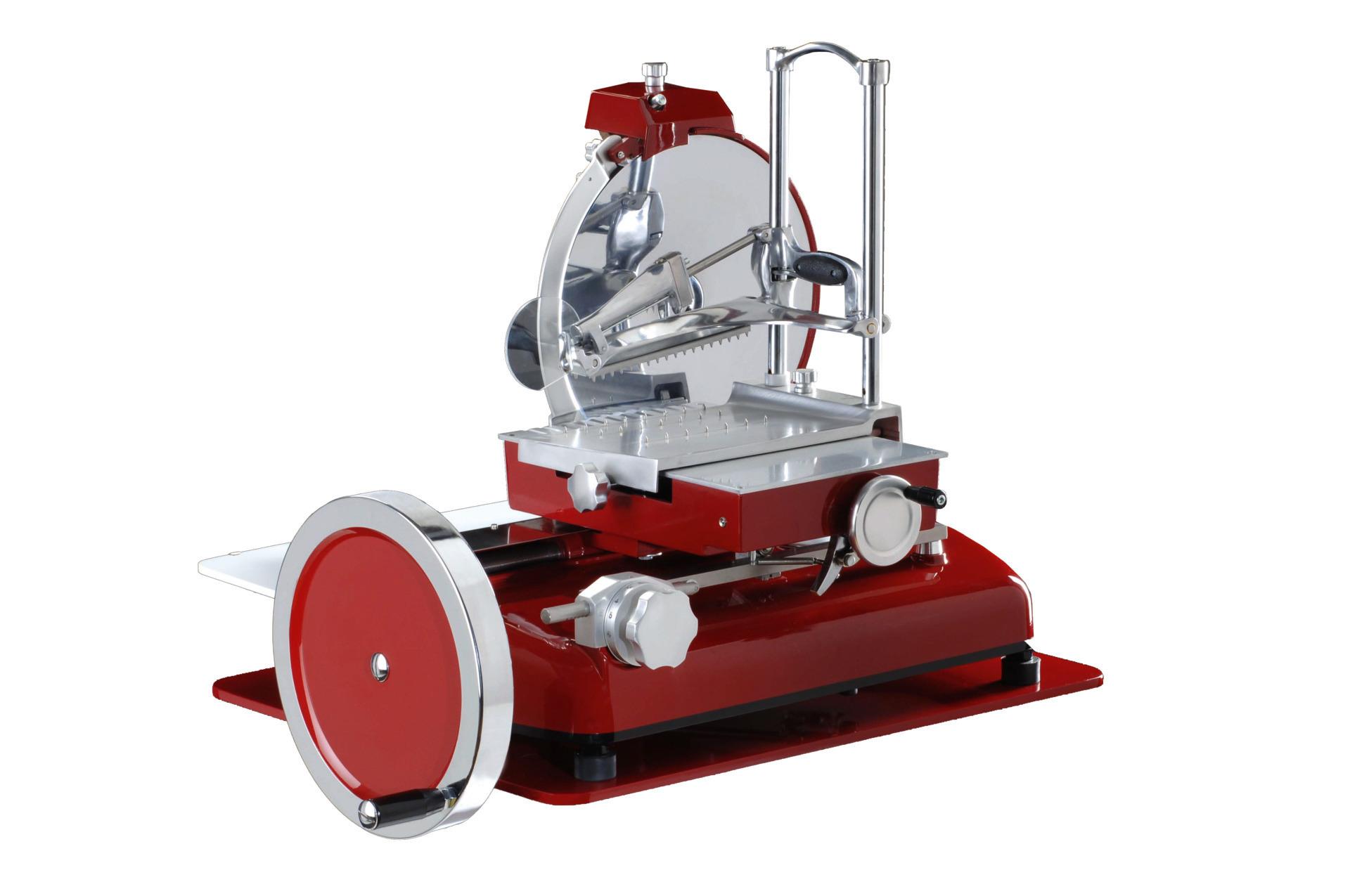 Aufschnittmaschine manuell Messer ø 350 mm 710 x 870 x 800 mm
