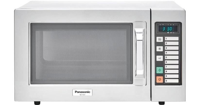 Panasonic-Mikrowelle NE 1037 1000 W 22 l mit Tastenfeld 510 x 360 x 306 mm