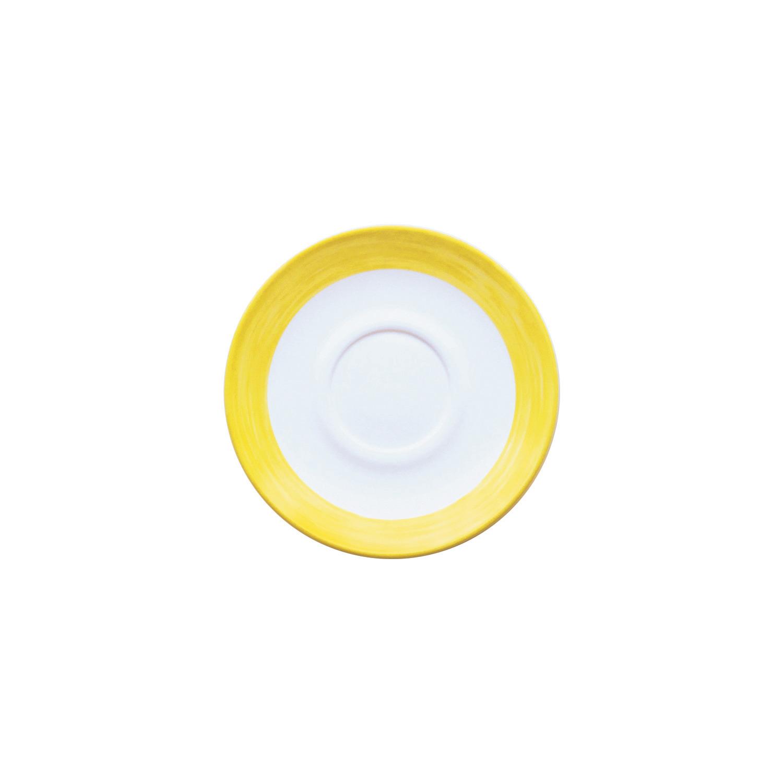 Restaurant Untertasse 140 mm gelb passend zur Tasse 0,19 l