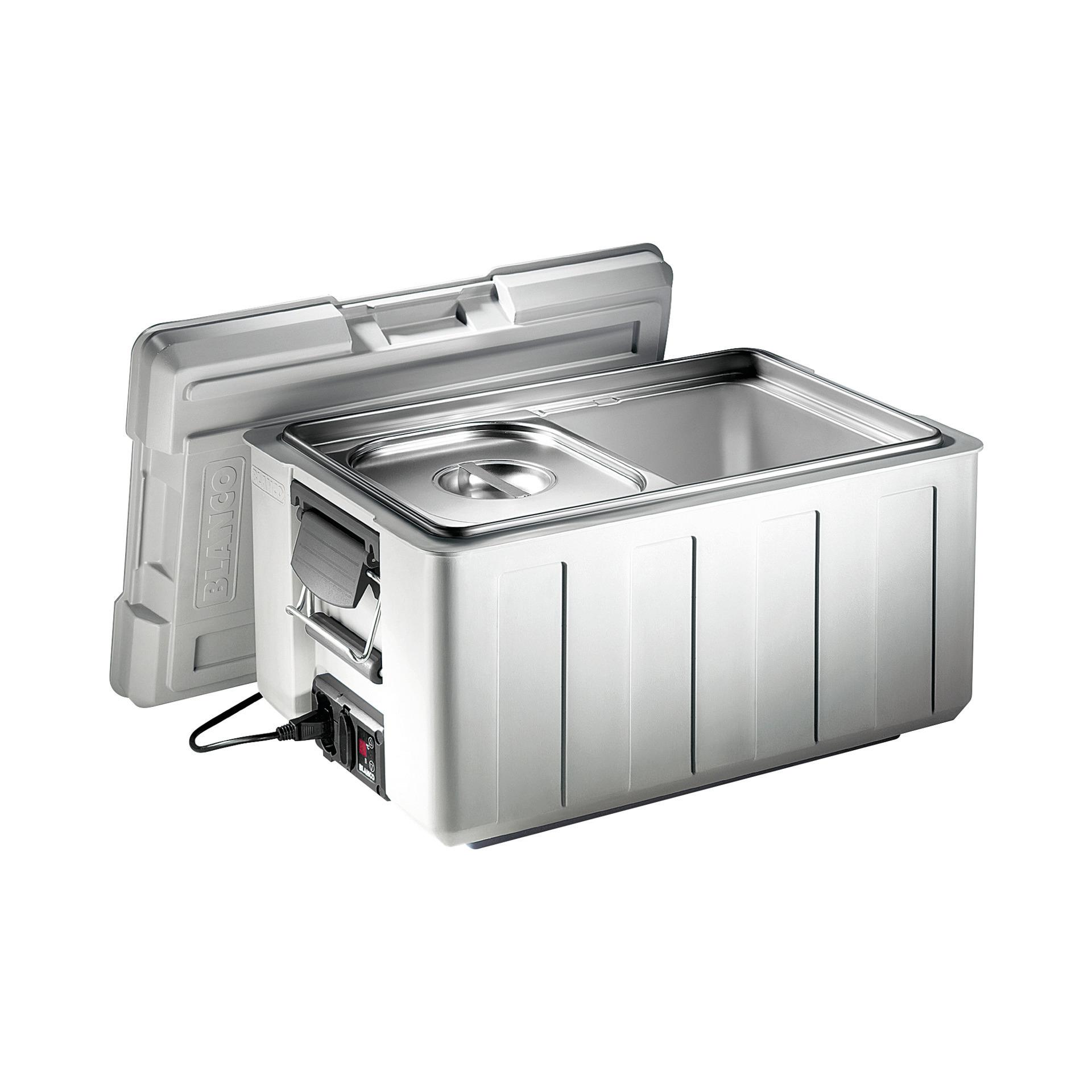 Blancotherm Toplader Kunststoff / mit Temperaturregler / GN 1/1 / mit Deckel