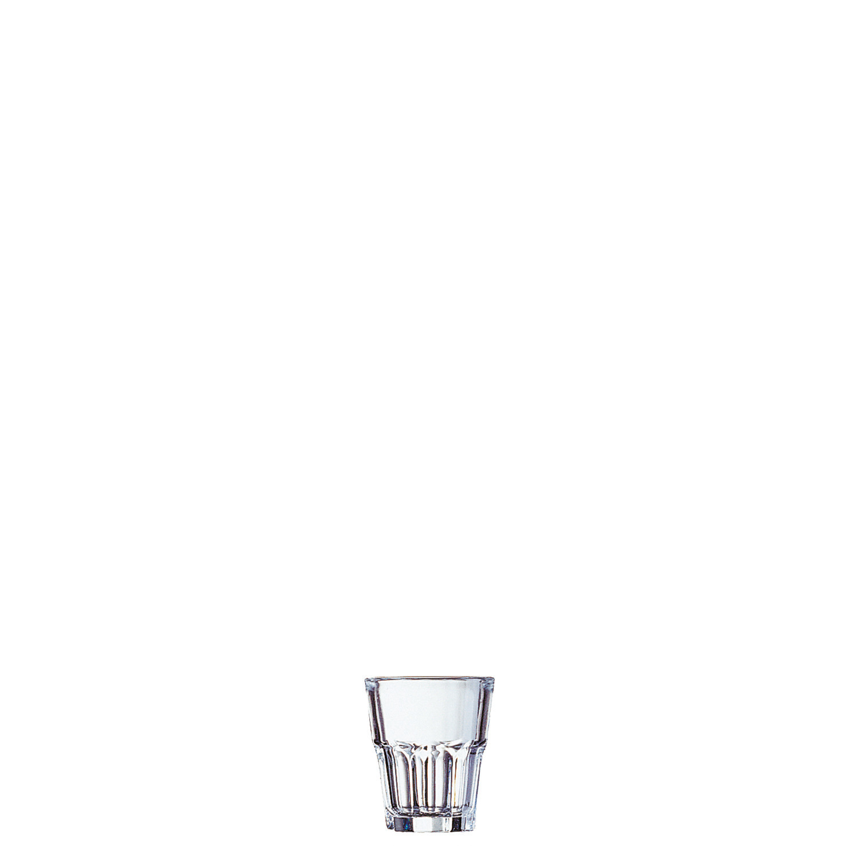 "Schnapsglas ""FB4,5"" stapelbar 50 mm / 0,05 l transparent"