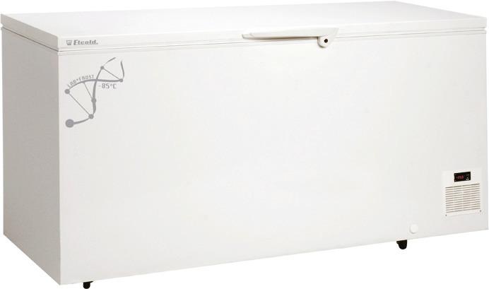 Labor-Tiefkühltruhe 300,00 l /  für 3 Körbe / weiß / steckerfertig