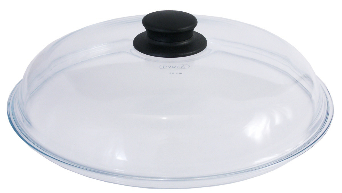 Glasdeckel 260 mm passend zu Aluguss Edelstahlpfannen