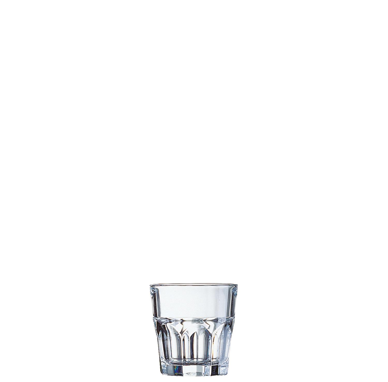 "Whiskyglas stapelbar ""FB16"" 70 mm / 0,16 l transparent"