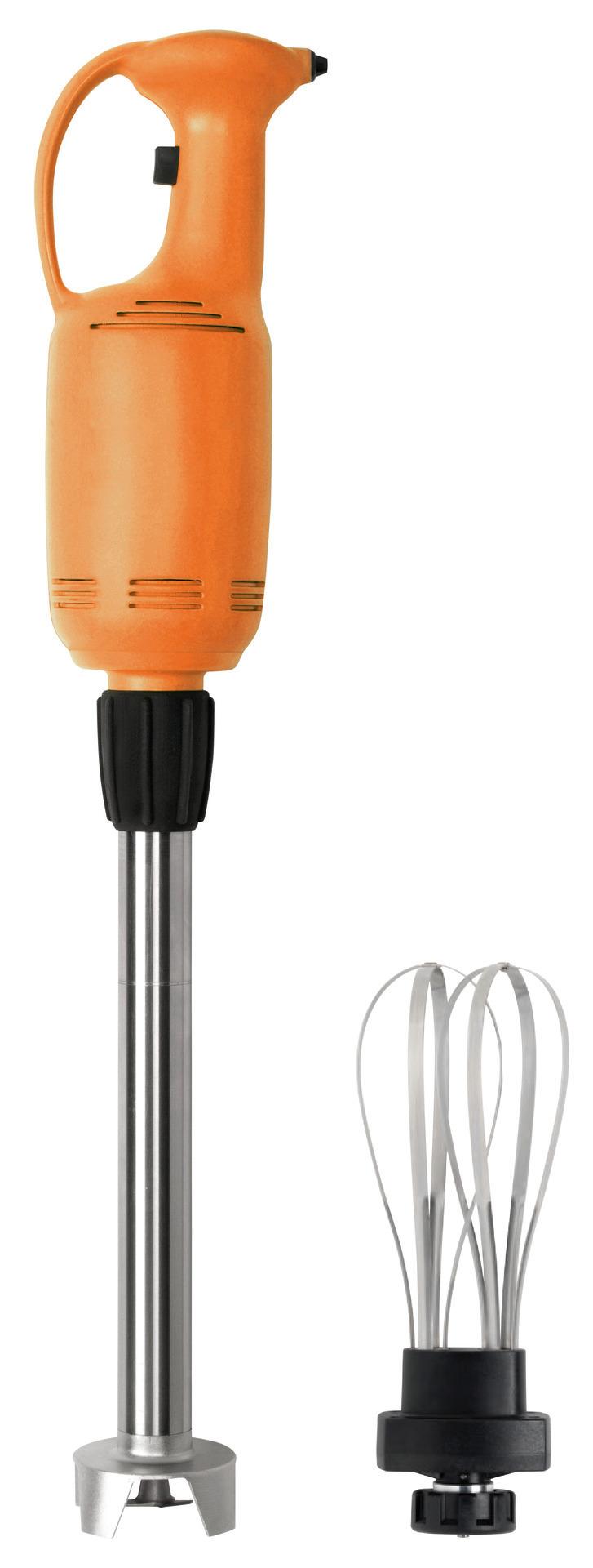 Handmixer, mit Geschwindigkeitsregler, kompl. mit 400 mm Mixstab u. Schneebesen