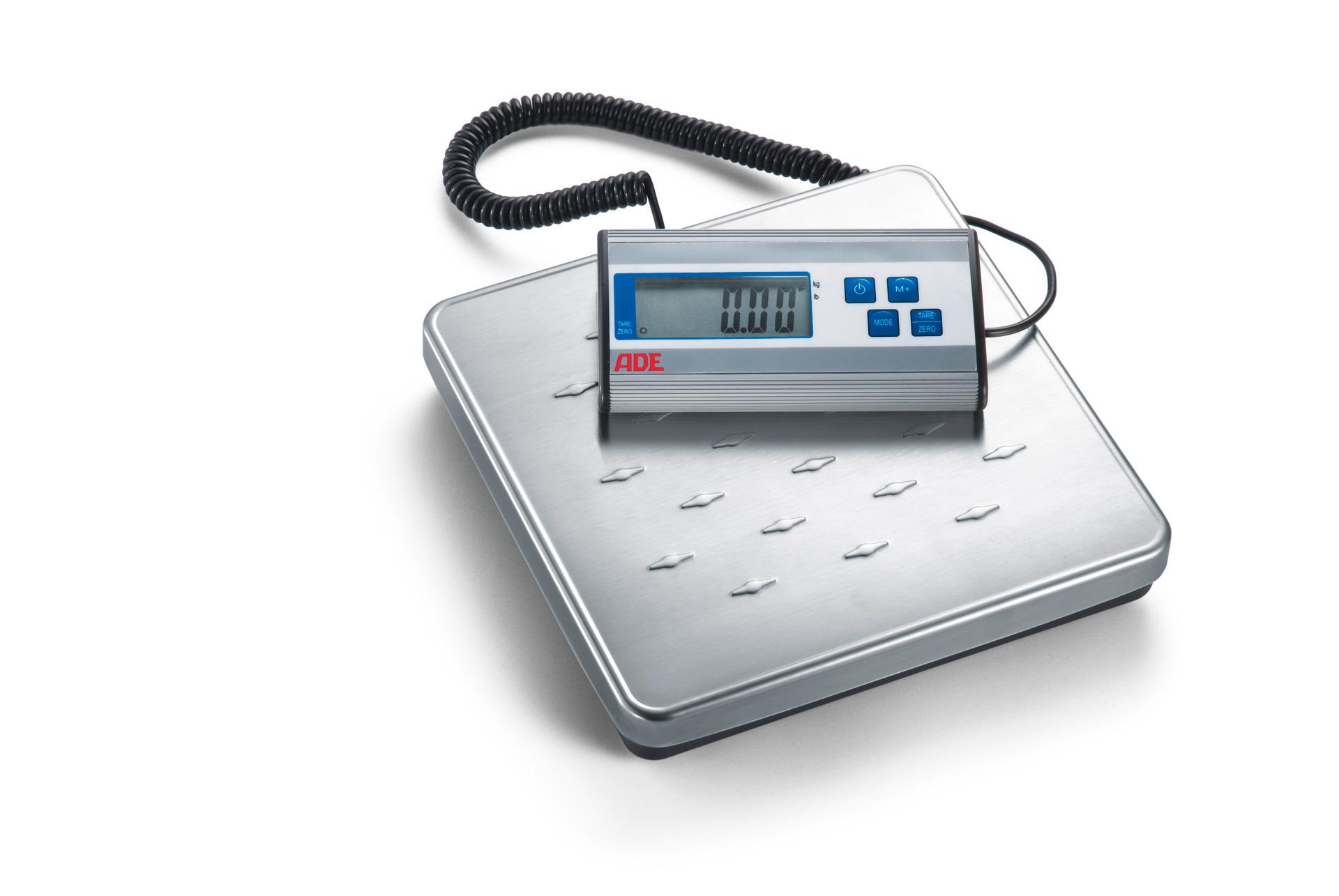 Elektronische Tischwaage bis 120 kg 275 x 275 x 40 mm