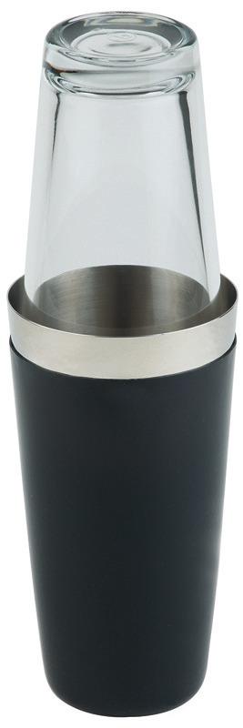 Shaker rund 2-tlg. 0,70 l / 90 mm / 300 mm hoch schwarz