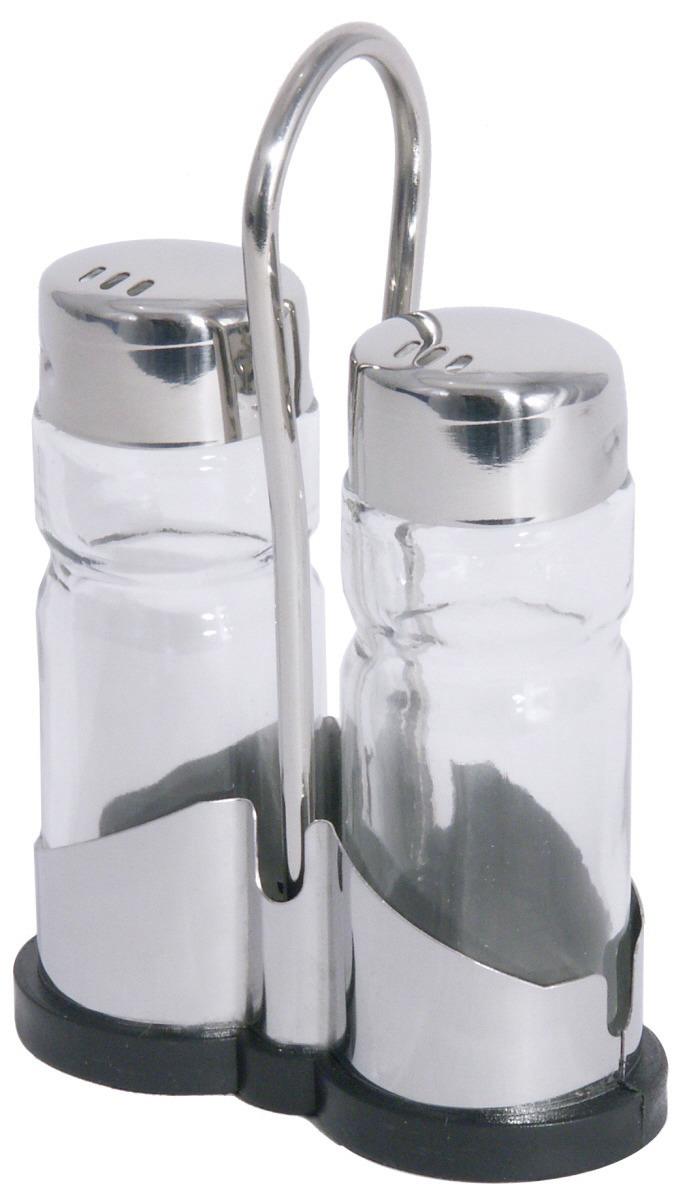 Salz- / Pfeffer-Menage 2-tlg. 80 x 35 x 120 mm hochglänzend