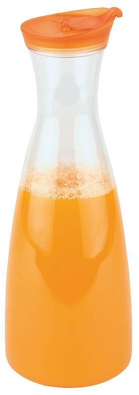 Karaffe / Kanne 1,60 l + Schraubdeckel mit aromadichtem Verschluss / orange