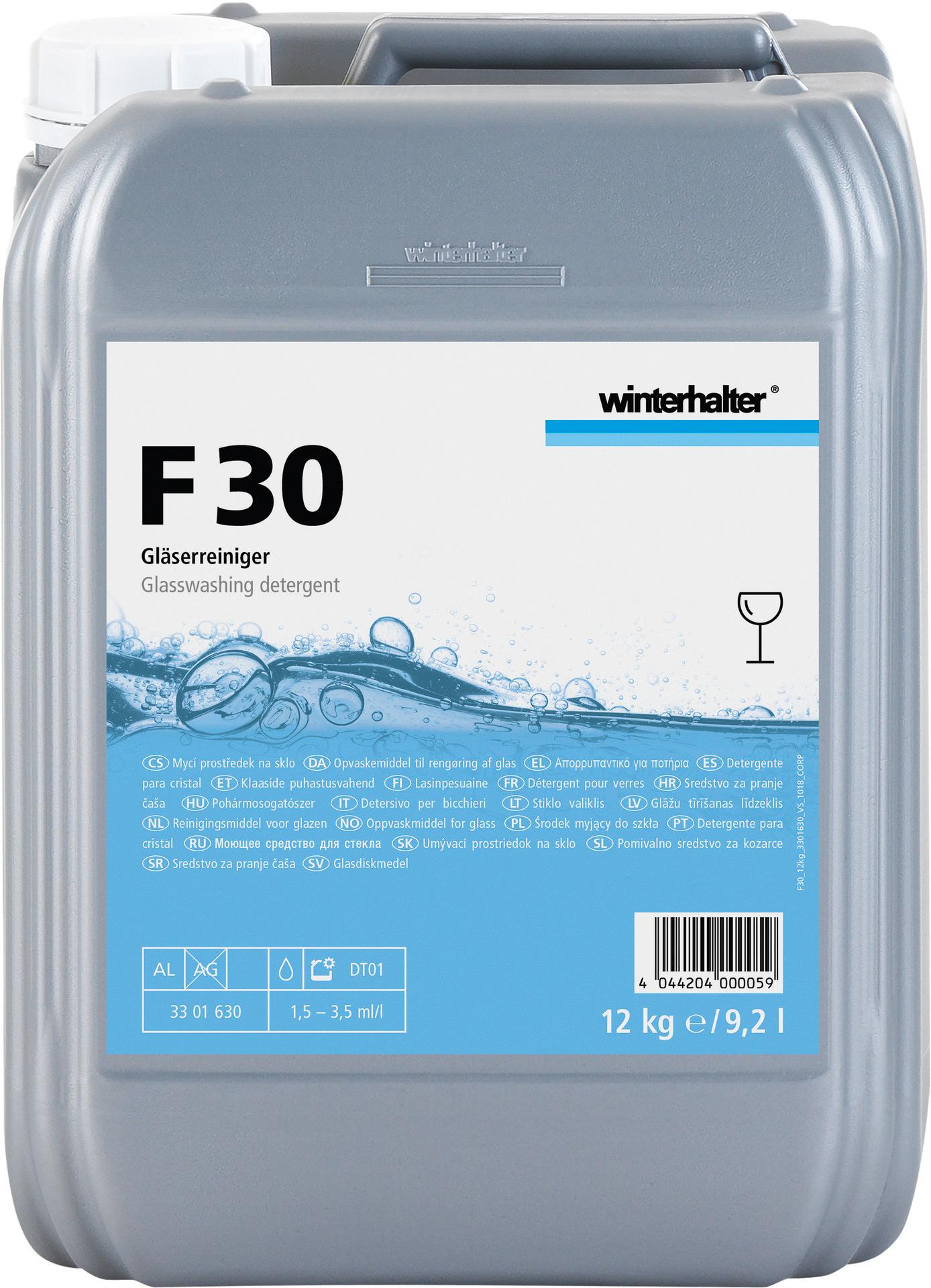 Gläserreiniger F 30 / 12,00 kg Kanister