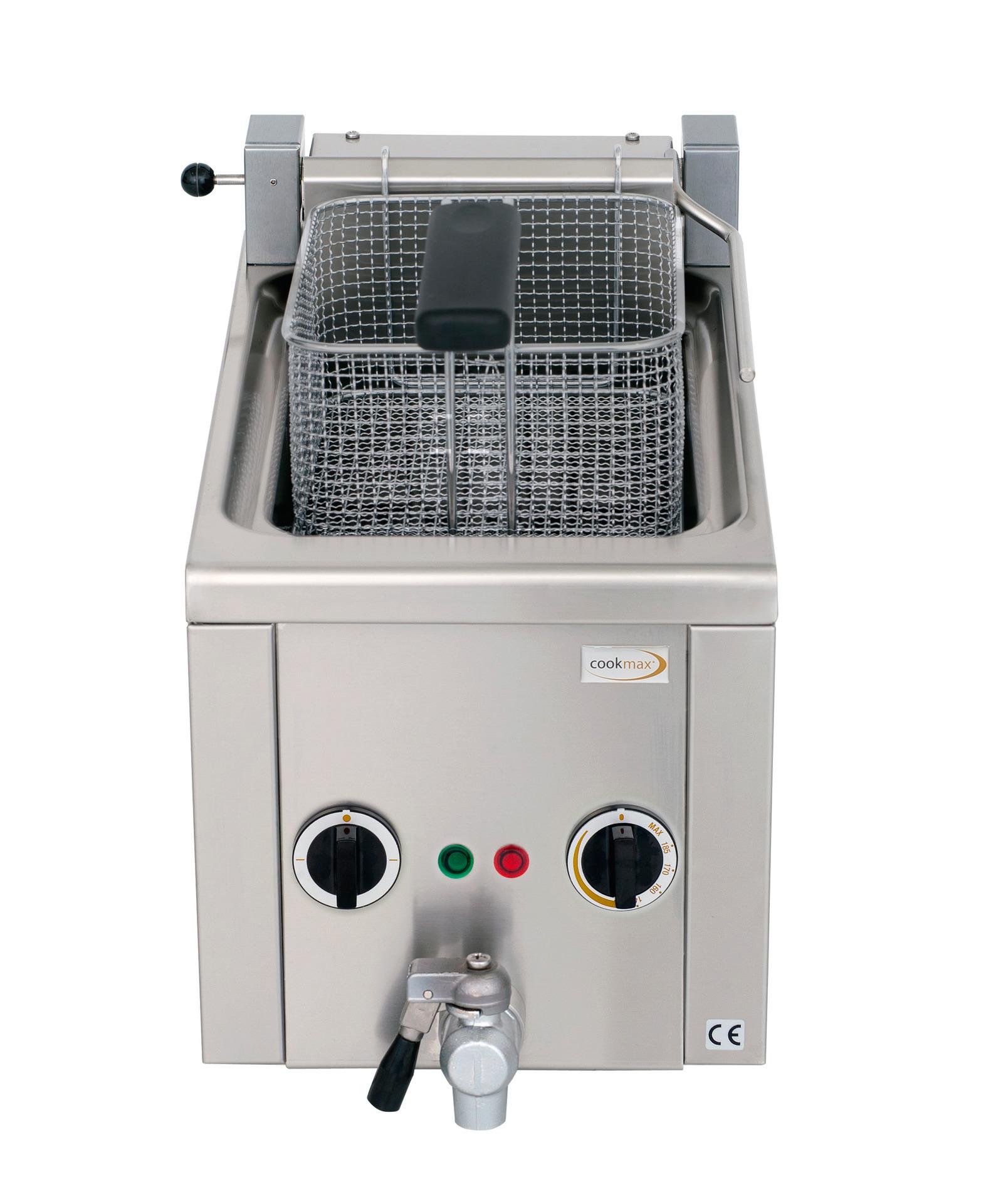 Elektro-Fritteuse 6 l mit Ablasshahn, 230V