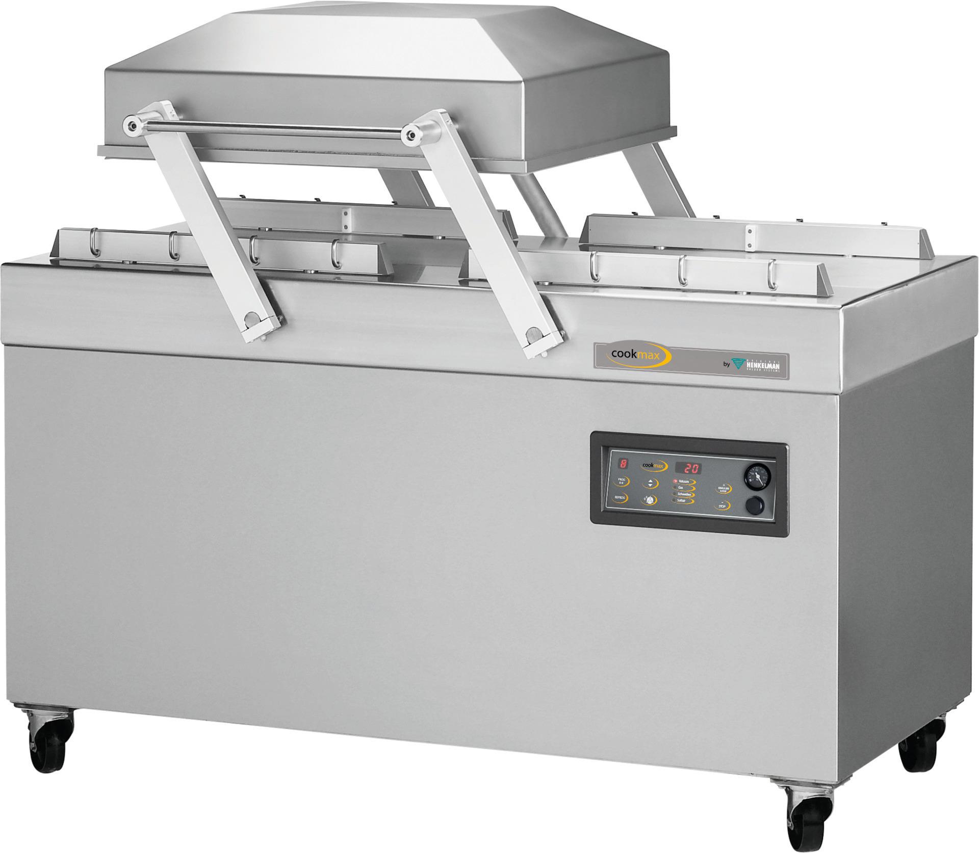 Vakuumierer 100 m³/h / Doppelkammer 620 x 500 x 240 mm