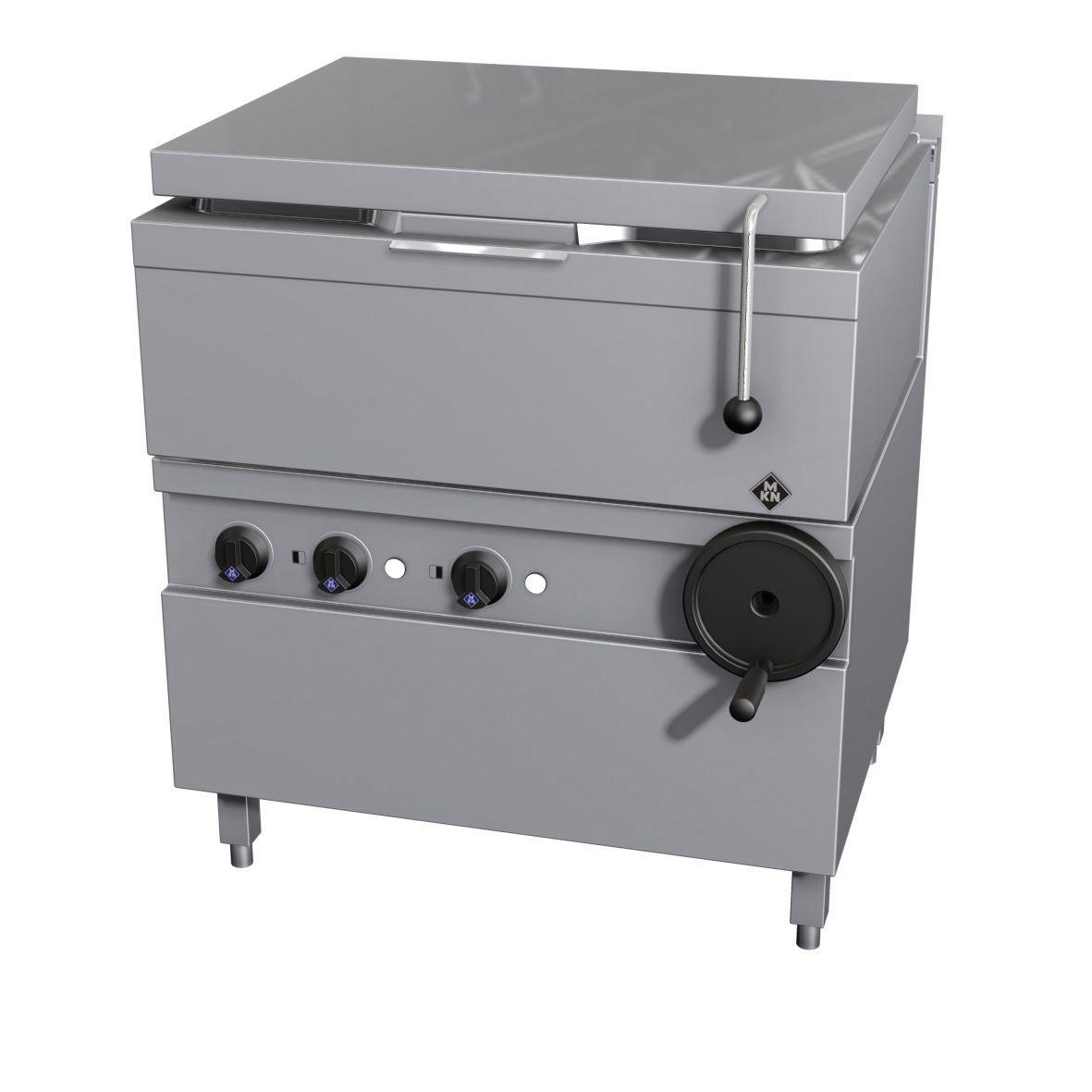 Elektro-Kippbratpfanne 62,00 l GN 2/1  Handkippung / Optima 700