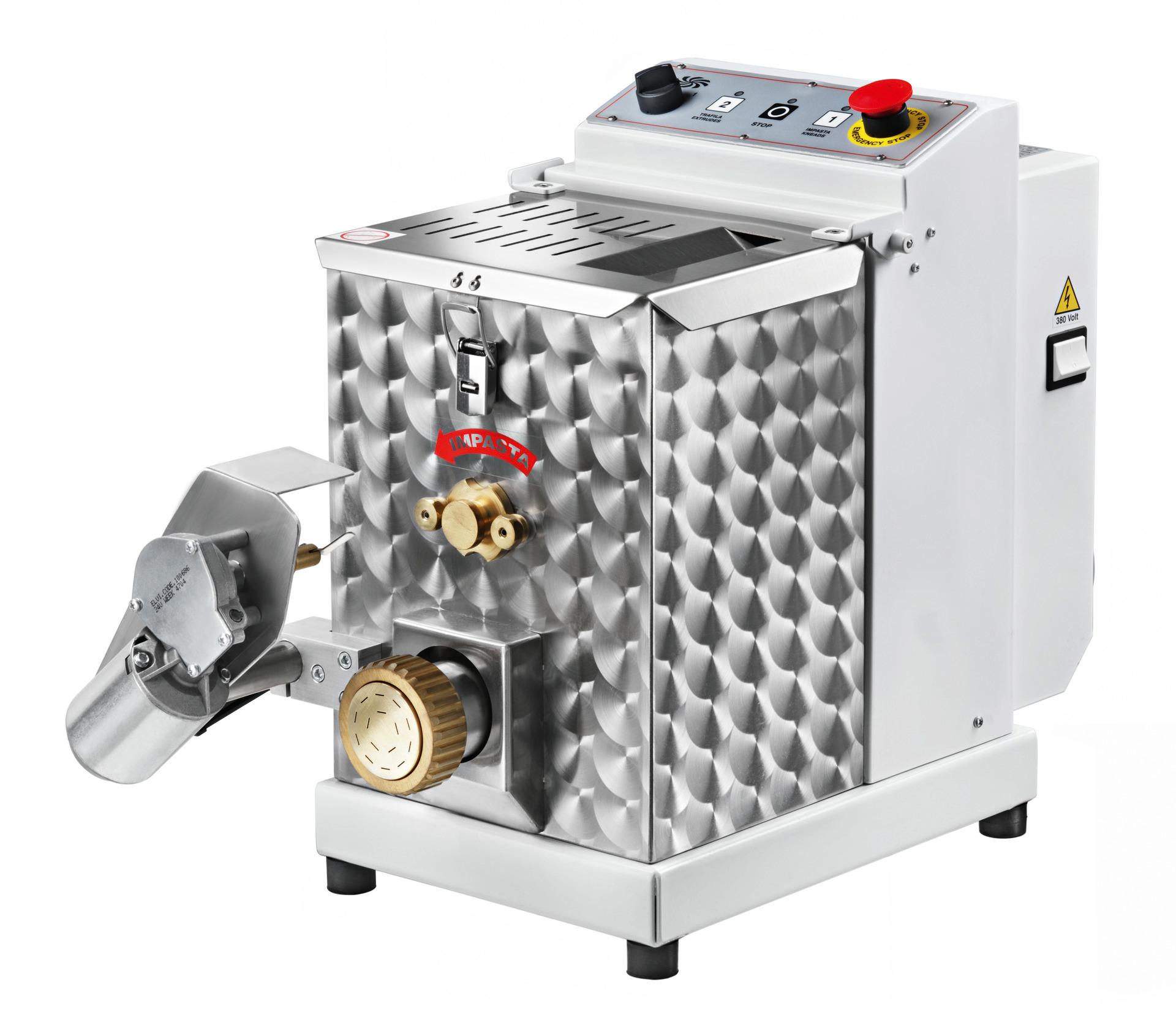 Nudelmaschine 4 kg mit Nudelschneider 350 x 760 x 640 mm