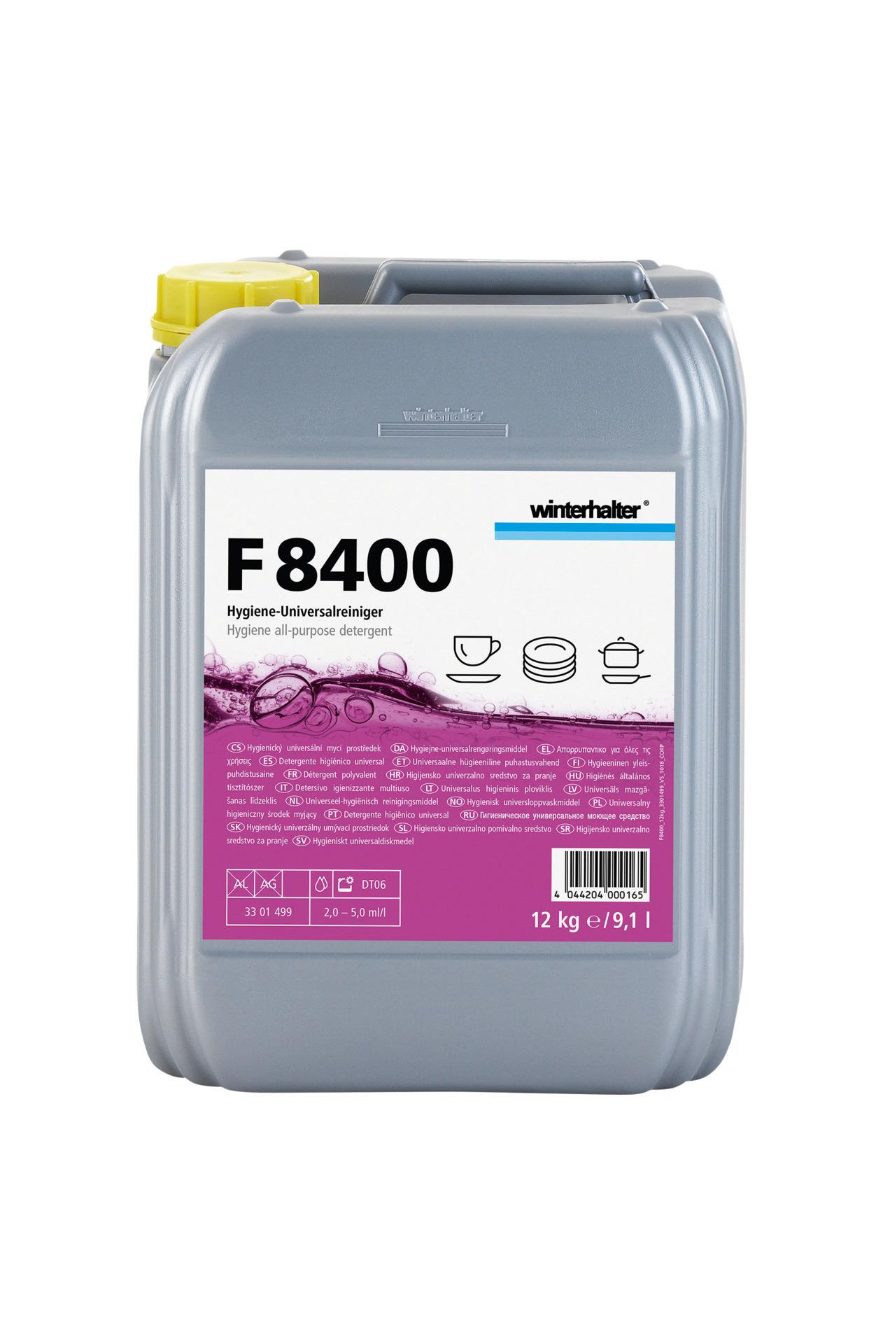 Hygiene-Universalreiniger F 8400 / 12,00 kg Kanister