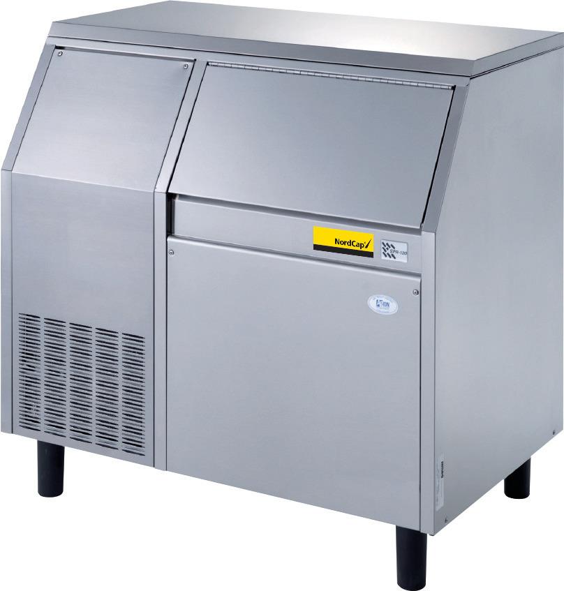 Flockeneisbereiter SPR 120 W / 55,00 kg Vorrat / 120,00 kg/24h / Wasserkühlung