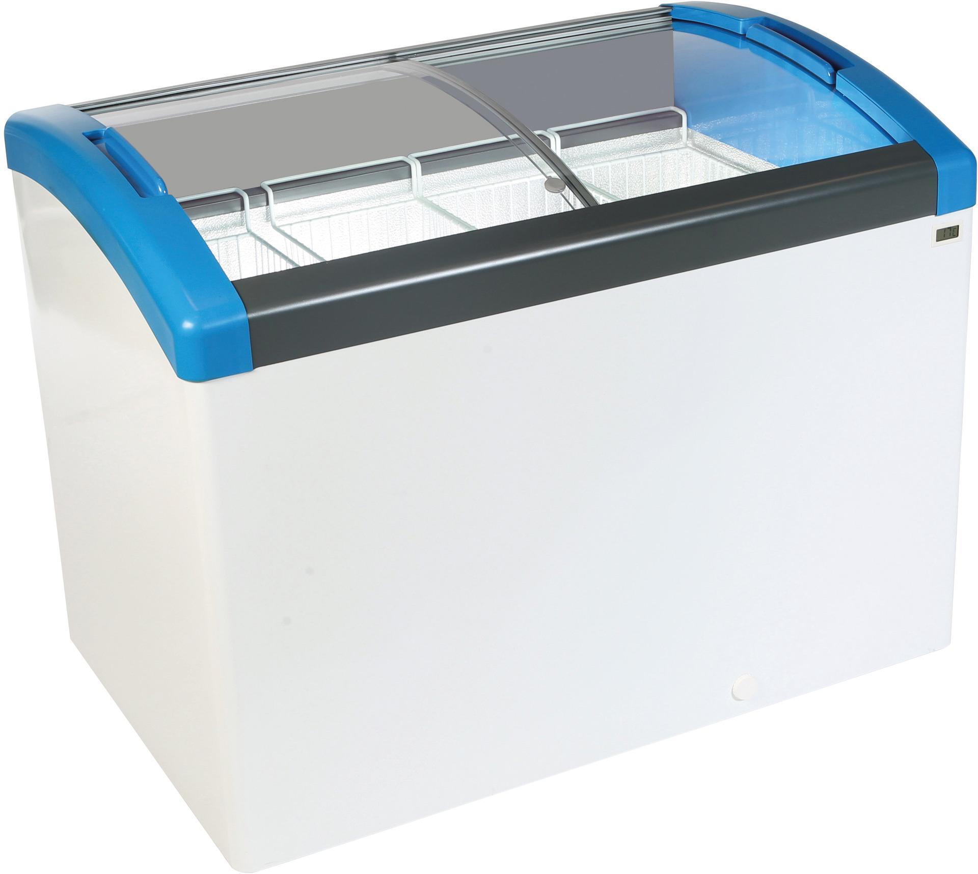 Kühl- / Tiefkühl-Impulstruhe 352,00 l  / für 5 Körbe / steckerfertig