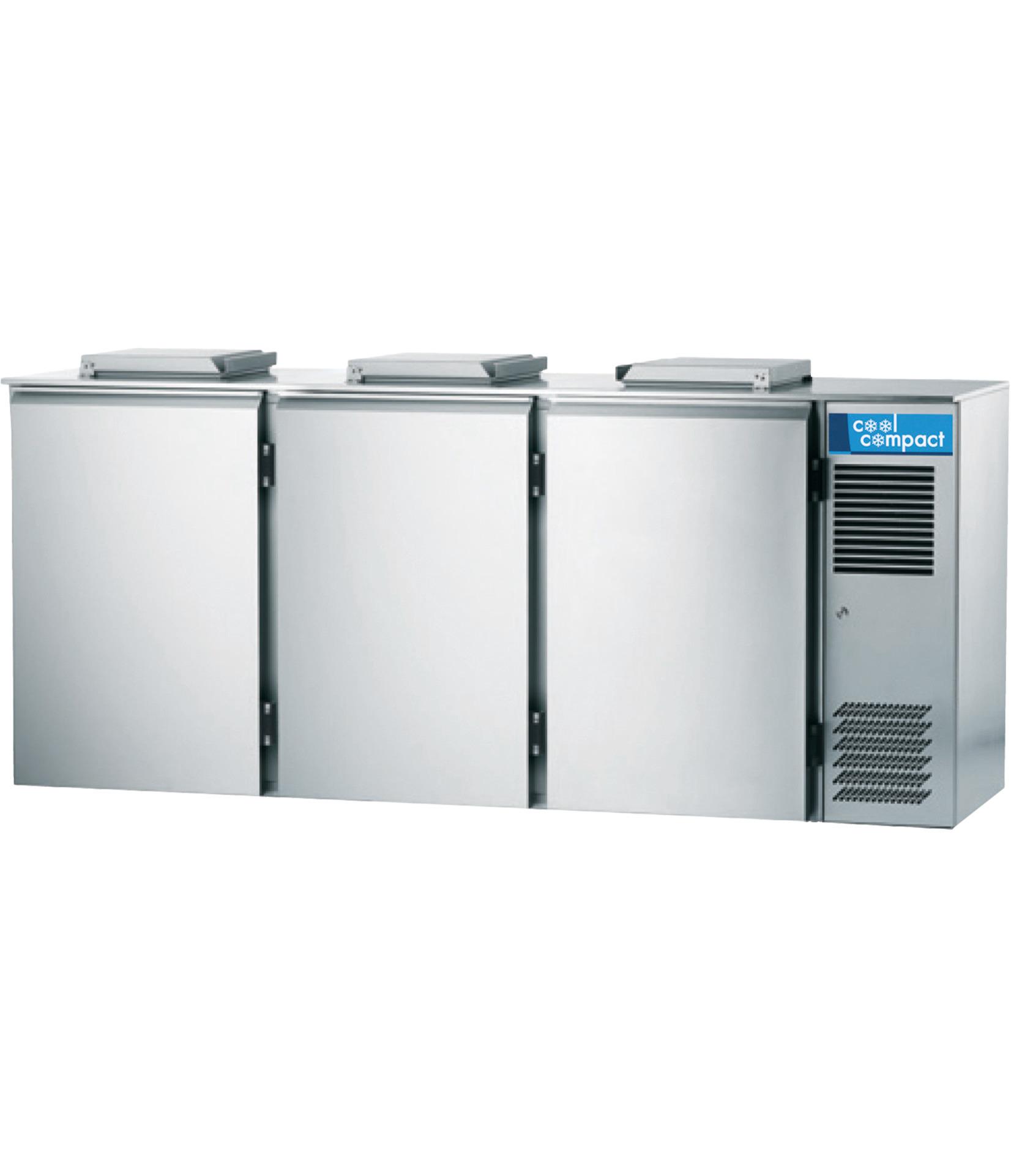 Abfallkühler für 3 x 120,00 l /  0,58 kW / steckerfertig