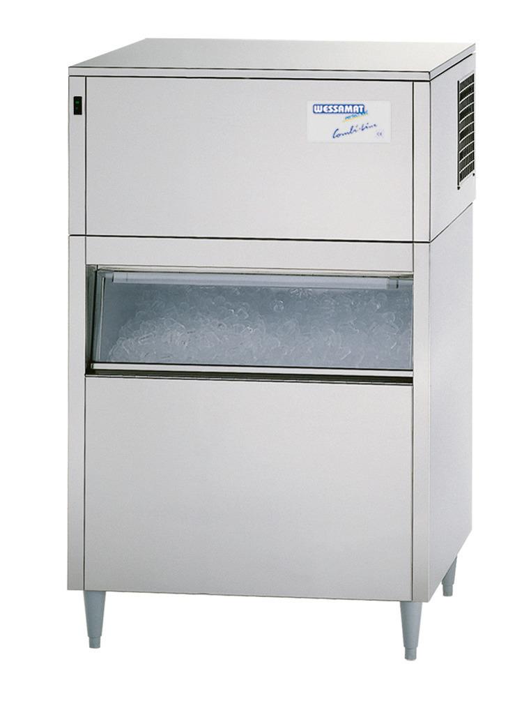 Eiswürfelbereiter W 240 EW / 240,00 kg/ 24 h/ 220,00 kg Vorrat / Wasserkühlung