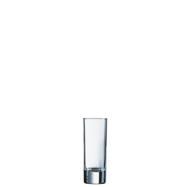"Likörglas ""FH6,5"" 38 mm / 0,07 l 0,02 + 0,04 /-/ transparent"