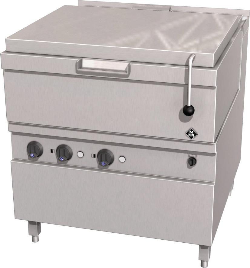 Elektro-Kippbratpfanne 62,00 l GN 2/1 Motorkippung / Optima 850