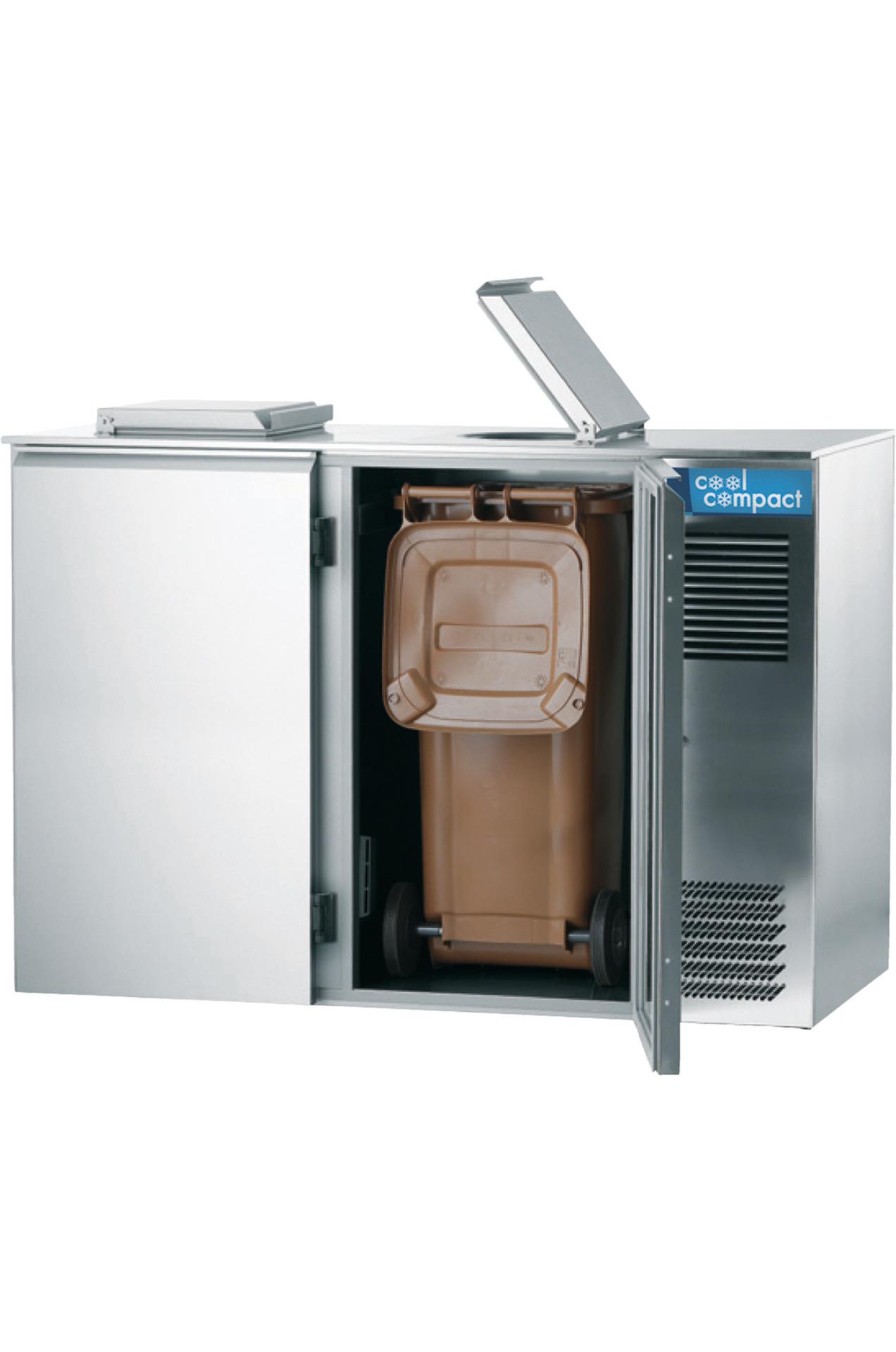 Abfallkühler für 2 x 240,00 l / 0,08 kW / zentralgekühlt