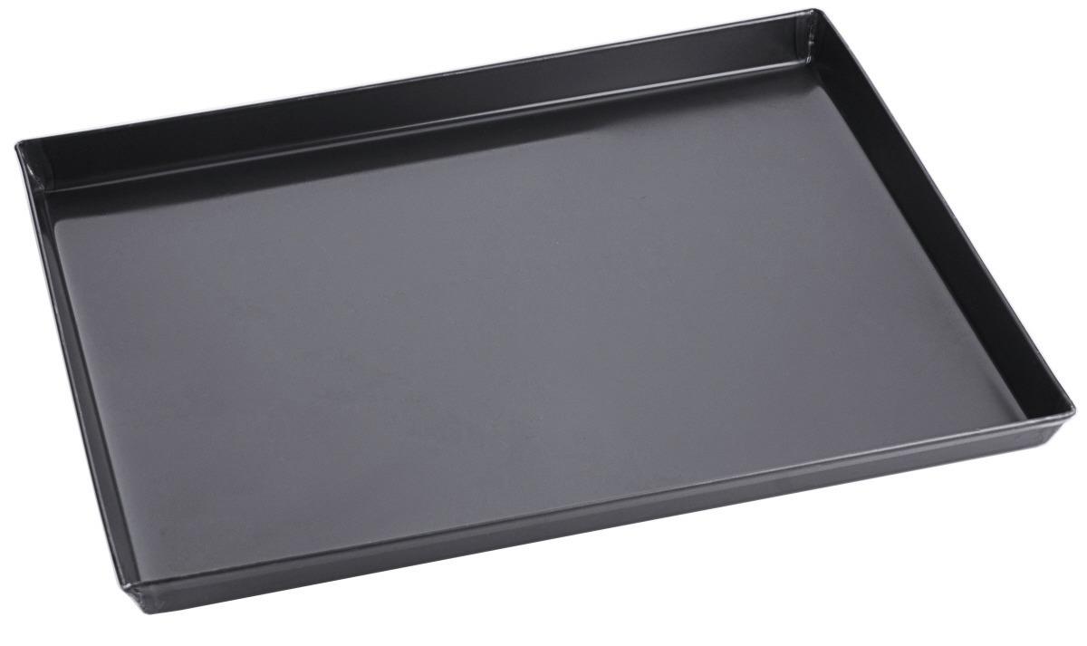Pizzablech rechteckig Backofenmaß 600 x 400 x 30 mm