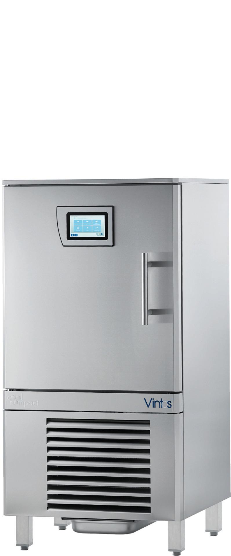 Schnellkühler / Schockfroster 8 x GN 1/1 Quereinschub / steckerfertig