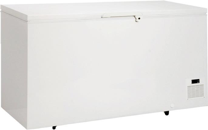 Labor-Tiefkühltruhe 360,00 l /  für 4 Körbe / weiß / steckerfertig