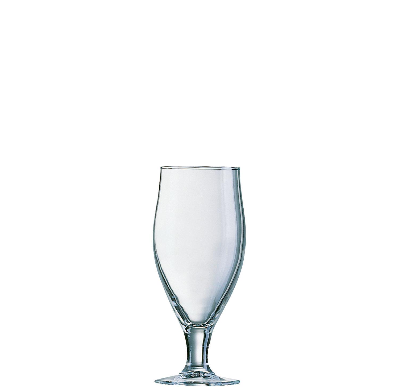 Biertulpe 72 mm / 0,32 l 0,25 /-/ mit Moussierpunkt transparent