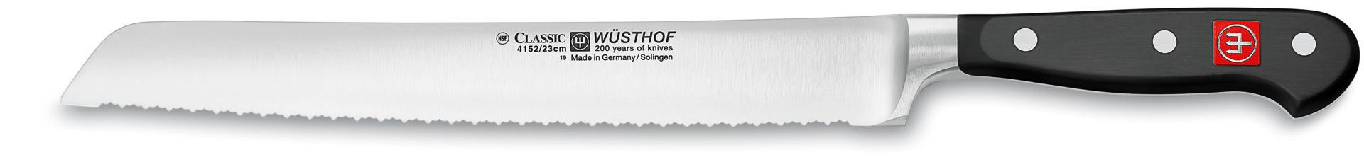 Brotmesser mit Doppelwelle  Klingenlänge 230 mm / 360 mm lang