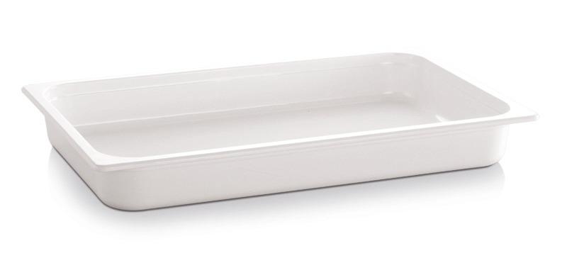 GN-Behälter GN 1/2 3,40 l / 325 x 265 x 65 mm weiß