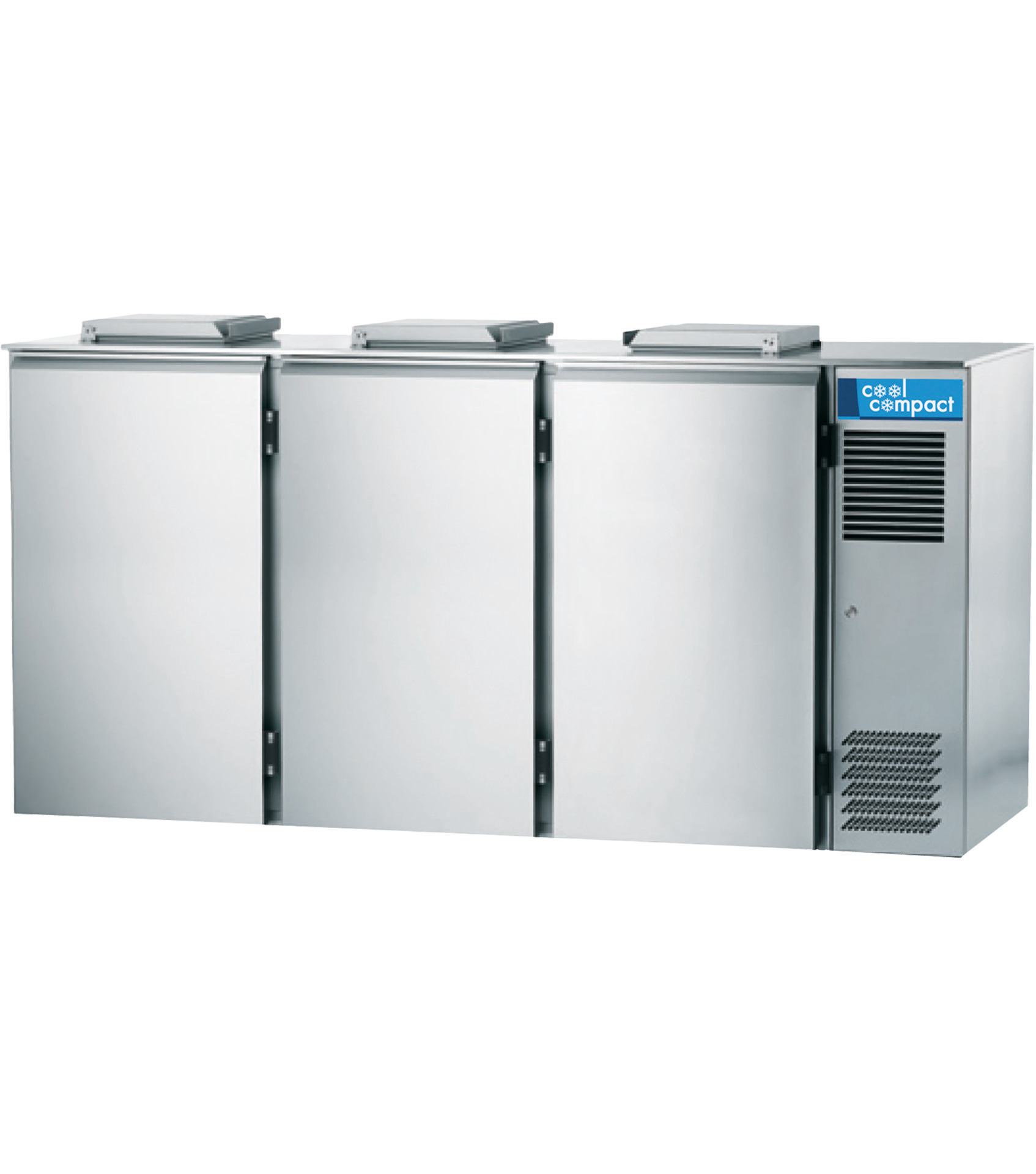 Abfallkühler für 3 x 240,00 l /  0,12 kW / zentralgekühlt