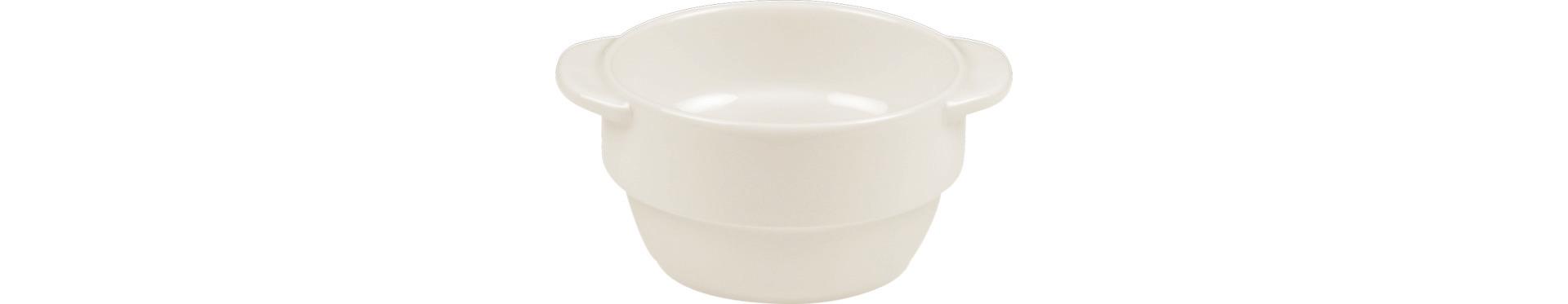 Suppentasse 2 Henkel 100 mm / 0,28 l crème