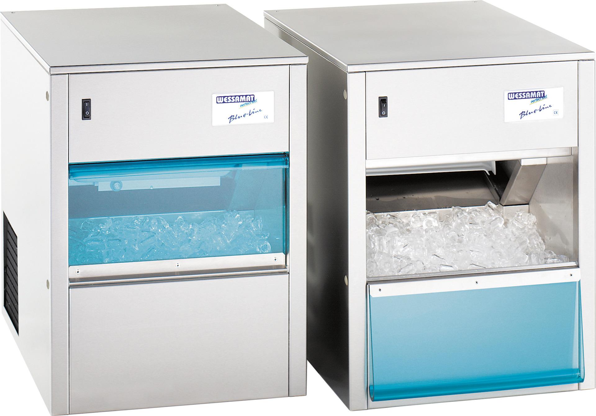 Eiswürfelbereiter W 49 L / 46,00 kg/24 h / 15,00 kg Vorrat / Luftkühlung