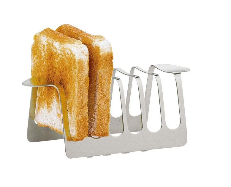 Toastständer 162 x 83 x 61 mm versilbert