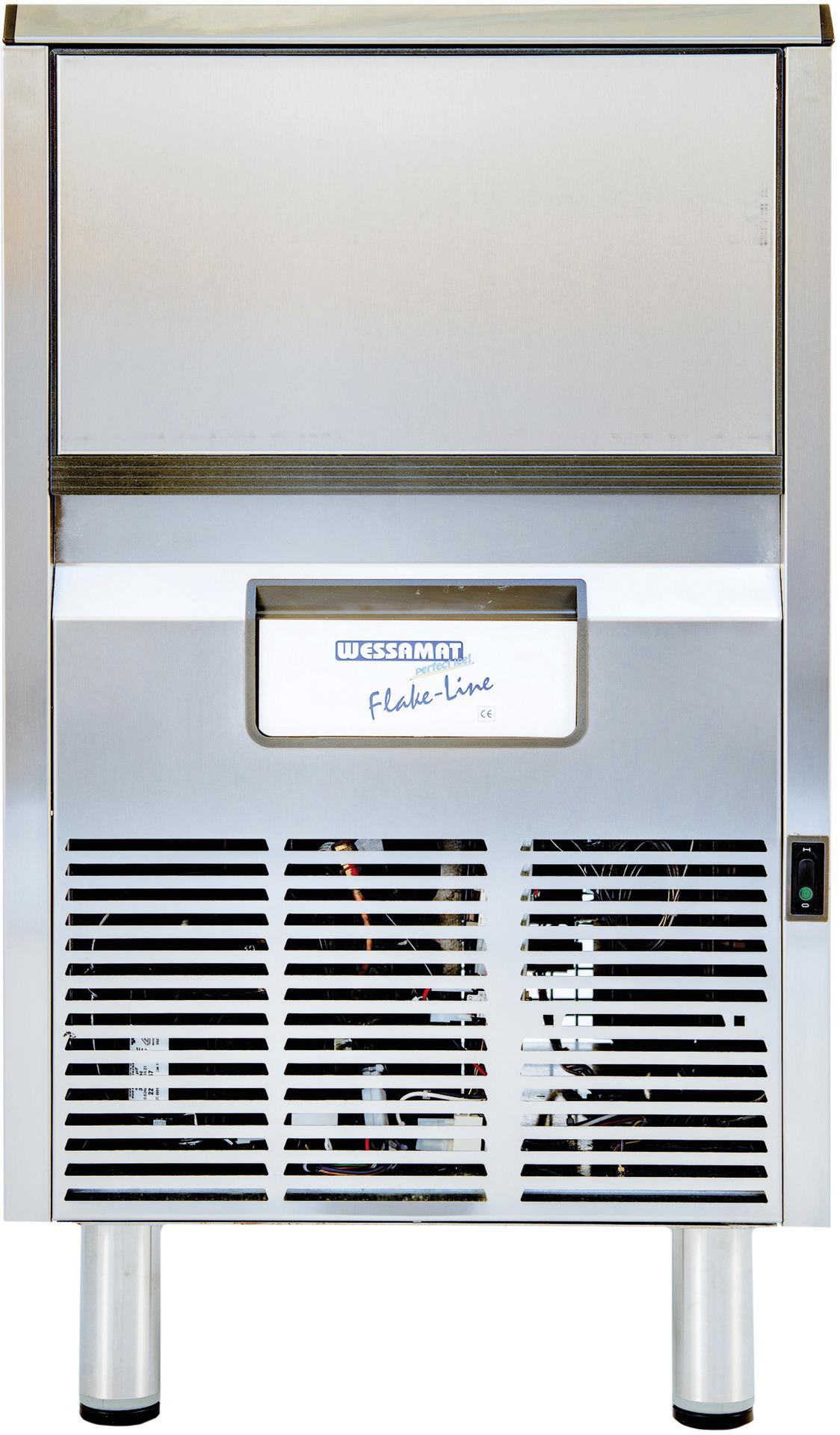 Nuggeteisbereiter NF 125 L/125,00 kg/24h / 42,00 kg Vorrat / Luftkühlung