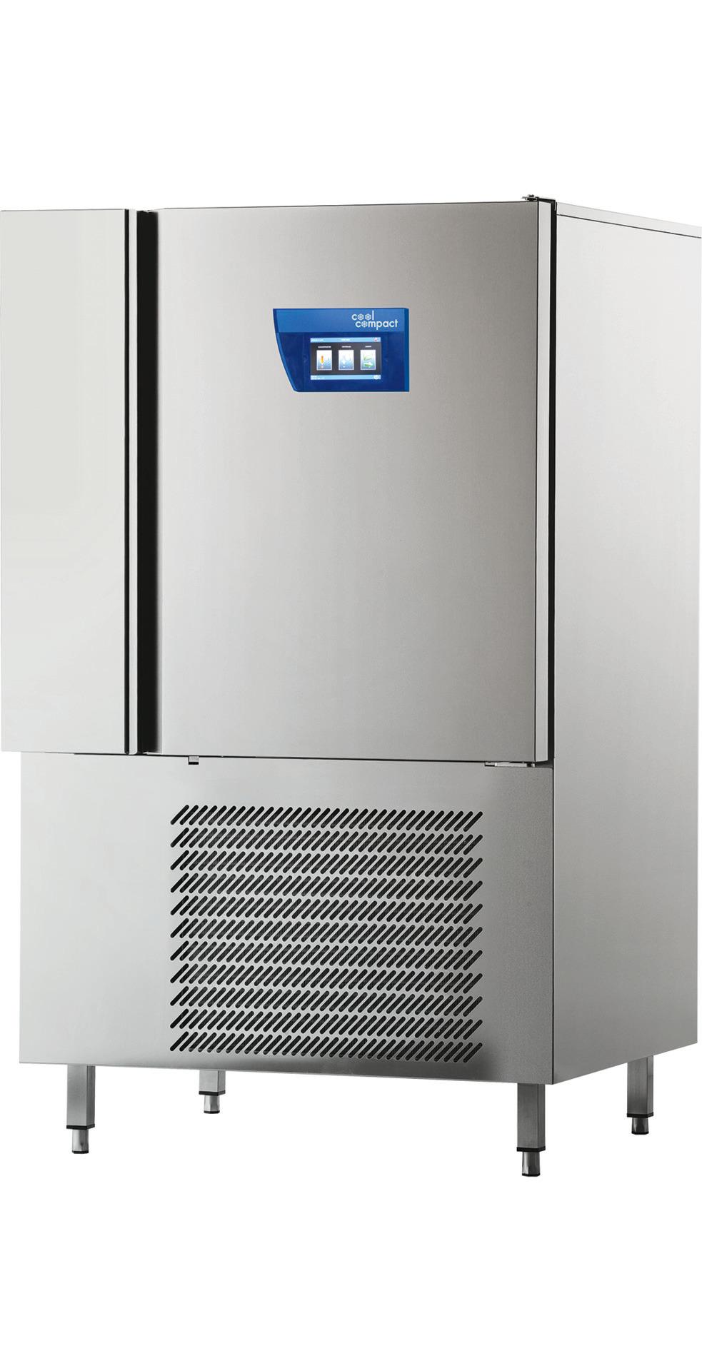Schnellkühler / Schockfroster 10x GN 2/1 Längseinschub / zentralgekühlt
