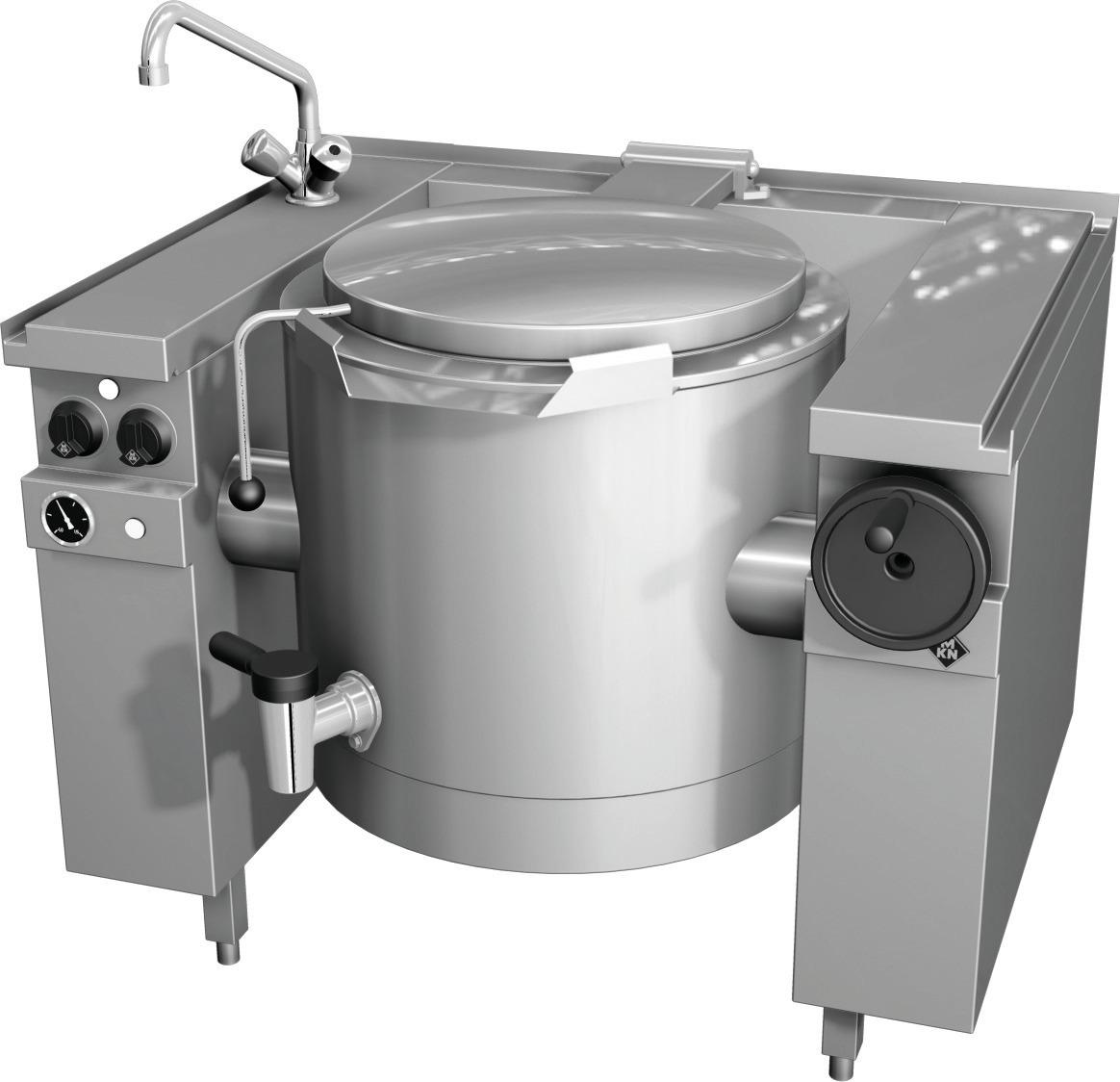 Elektro-Kipp-Schnellkochkessel 60,00 l Handkippung Vapro 1100 x 850 x 700 mm