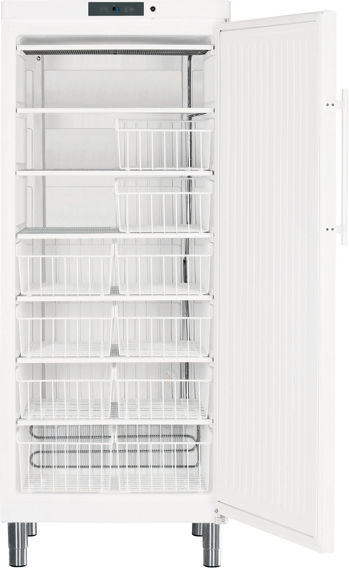 Tiefkühlschrank 513,00 l / statische  Kühlung / steckerfertig / weiß