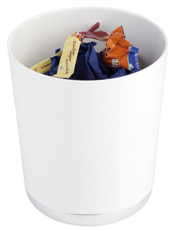 Tischreste- / Besteckbehälter 1,30 l / 130 x 130 x 150 mm weiß