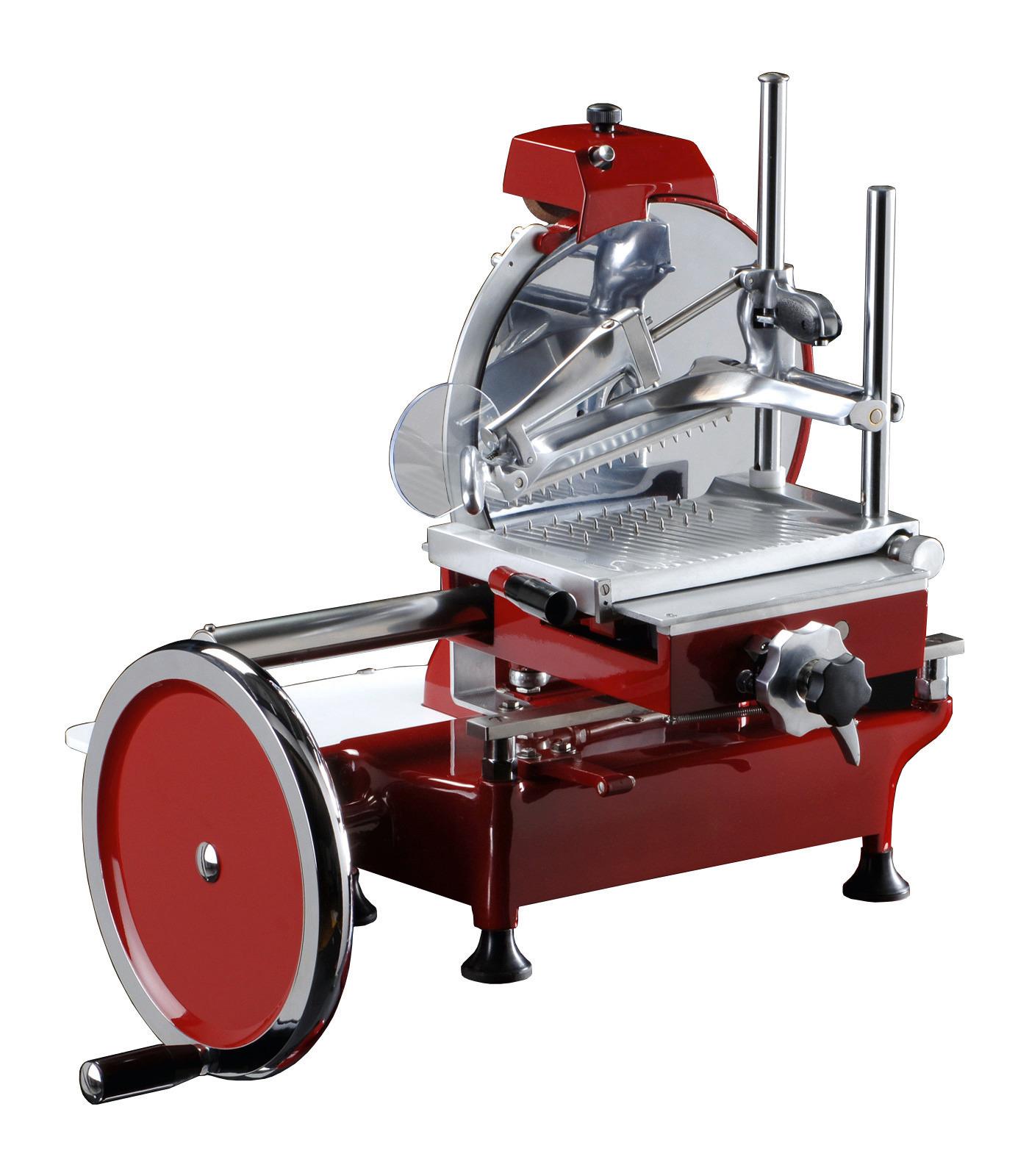 Aufschnittmaschine manuell Messer ø 300 mm 600 x 720 x 740 mm